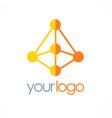 Prism technology logo vector image