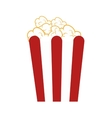 popcorn box snack vector image