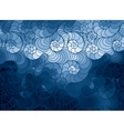 background of doodle drawn lines vector image