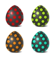 Easter color pattern vector image
