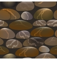 Seamless pattern with stones vector image