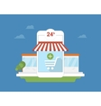 E-commerce mobile application vector image