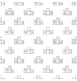 Pedestal pattern seamless vector image