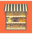 Bakery and Bread Products Showcase vector image