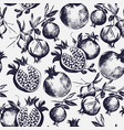 gorgeous seamless pattern with cut and whole vector image