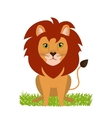 wild leon design vector image