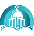 Learning Center vector image