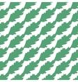 Poppy Leaves Seamless Pattern vector image