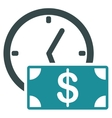 Credit icon from Business Bicolor Set vector image