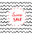 Sale background or card design with handdrawn vector image