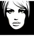 woman's eyes vector image vector image