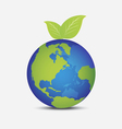world as like fruit vector image vector image