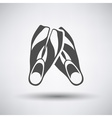 Swimming Flippers Icon vector image