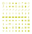 A set of universal WEB icons vector image