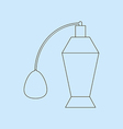 Perfume Bottle Icon vector image