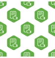 Good document pattern vector image