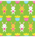 easter seamless pattern vector image vector image