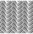 seamless brush lines pattern herringbone vector image