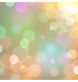 background with bokeh defocused lights vector image