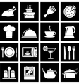 icons kitchen vector image