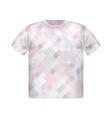 T-shirt print geometric modern poster short square vector image