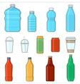 drinks beverages vector image