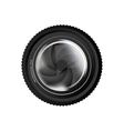 camera lens icon image vector image
