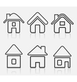 House icon8 vector image vector image