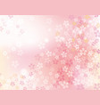 cherry blossoms in full bloom vector image