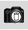 digital photo camera negative roll vector image