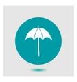 Icon parasol vector image