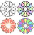Islamic patterns vector image