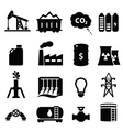 Energy Icons vector image vector image