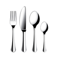 object cutlery vector image