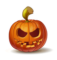 Pumpkins Smiling 2 vector image