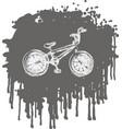 BMX bike vector image vector image