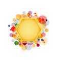 Honeycomb Element vector image