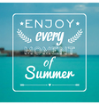 blurred summer landscape background with vector image