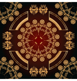 abstract seamless pattern with floral ornaments vector image
