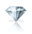 object diamond vector image