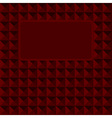 Abstract color banner on red colors vector image vector image