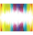 colorful rainbow advertisement vector image