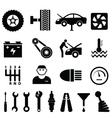 Mechanic workshop vector image vector image