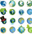 global icons vector image vector image