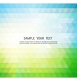 Abstract color banner vector image