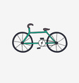 Hand drawn bike vector image