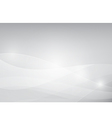 Grey abstract background lighting curve and layer vector image