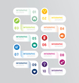 Infographics design options template banner vector image