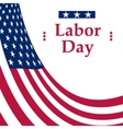 Labor Day holiday in the United States vector image