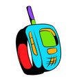 transmitter icon cartoon vector image